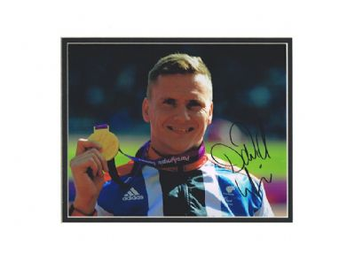 David Weir Autograph Signed Photo